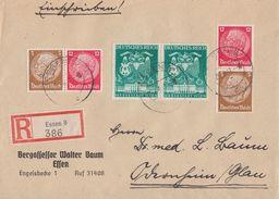 DR R-Brief Mif Minr.2x 769,Zdr. Minr.W80,S179 Essen - Briefe U. Dokumente