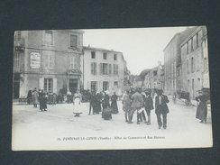 FONTENAY LE COMTE   1910 / RUE BLOSSAC DEVANTURE COMMERCE HOTEL DU COMMERCE  / CIRC OUI / EDIT VOIR PHOTO - Fontenay Le Comte