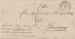 Preussen Brief Seltener K2 Naumburg A. B. 23.4. Gel. Nach Grünberg - Preussen