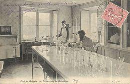 GRIGNON ECOLE LABORATOIRE DE BOTANIQUE 78 - Grignon