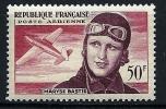 "FR Aerien YT 34 "" Maryse Bastié "" 1955 Neuf * - 1927-1959 Neufs"