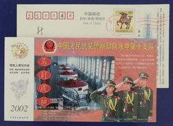 Tibet Yanghu Pumped-storage Hydroelectric Plant Generator,China 2002 Armed Police Forces Hydropower Troops Advert PSC - Water