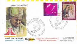 Bosnien Herzegowina   2003, Besuch Von S.S. Giovanni Paolo II. - Papi