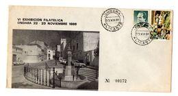 Carta Con Matasellos Commemorativo Exhibicion Filatelica Ondara. - 1931-Hoy: 2ª República - ... Juan Carlos I