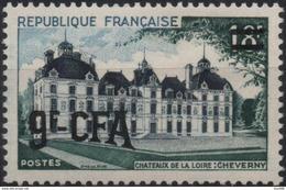 REUNION CFA Poste 316 ** MNH Le Château De La Loire De Cheverny Moulinsart TINTIN HERGE KUIFJE - Unused Stamps