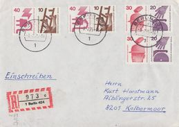 Berlin R-Brief Zdr Mif Minr.2x W51, W52, W57 Berlin - Berlin (West)