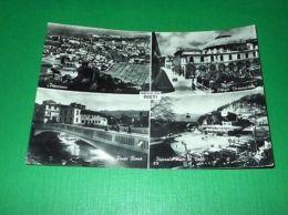 Cartolina Saluti Da Rieti - Vedute Diverse 1952 - Rieti
