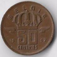 Belgium 1957 50c [C463/2D] - 1951-1993: Baudouin I
