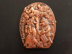Broche -  CARNAVAL DE BALE  Suisse - FASNACHT 1980  - Cuivre - Jetons & Médailles