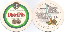 #D060-227 Viltje Distelhausen - Beer Mats
