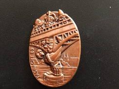 Broche -  CARNAVAL DE BALE  Suisse - FASNACHT 1989 - Cuivre - Jetons & Médailles