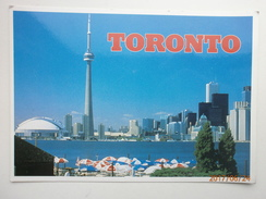 Postcard Toronto View From The Ferry Dock At Centre Island My Ref B21417 - Toronto