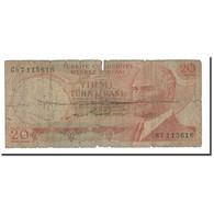 Turquie, 20 Lira, 1974, KM:187a, B - Turquie