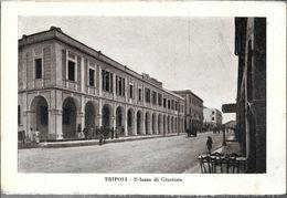 TRIPOLI  PALAZZO DI GIUSTIZIA  STAMPA CIRCA 1930 LIBIA OCC. ITALIANA - Libië
