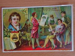 IMAGE  --  LIBRAIRIE  D' ÉDUCATION  NATIONALE  --     SENEFELDER  Inventeur De La Lithographie - Other