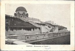 TRIPOLI  MONUMENTO AI CAIDUTI  STAMPA CIRCA 1930 LIBIA OCC. ITALIANA - Libië
