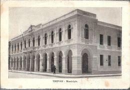 TRIPOLI  MUNICIPIO STAMPA CIRCA 1930 LIBIA OCC. ITALIANA - Libië