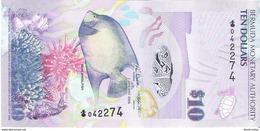 Bermuda - Pick 59 - 10 Dollars 2009 - Unc - Bermudas