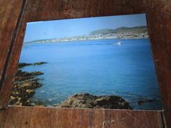 Saint Pierre Et Miquelon. La Ville Vue De L'Ile Aux Marins. CIM. Postmarked 1991 Avec Jolie Timbre Et Obliteration - Saint-Pierre-et-Miquelon