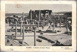 HOMES - I RUDERI DI LEPIS MAGNA STAMPA EDITORE CESARE CAPELLO 1937  LIBIA OCC. ITALIANA - Libië