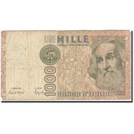 Italie, 1000 Lire, 1982-1983, KM:109b, 1982-01-06, B - [ 2] 1946-… : République