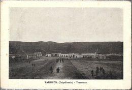 TARHUNA TRIPOLITANIA TRAMONTO ANIMEE ANIMATA STAMPA  LIBIA OCC. ITALIANA - Libië