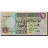 Libya, 5 Dinars, KM:60b, NEUF - Libye