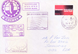 SOUTH AFRICA - ANTARCTIC EXPEDITION - 1979 - MARION ISLAND, BPI GEOPHYSICAL SURVEY, NEUTRON RESEARCH - South Africa (1961-...)