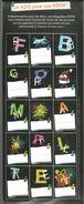 Planche De 15 étiquettes Autocollantes KDOS à Apposer Sur Les Paquets Cadeaux - Autres