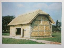 Postcard Cruck Framed Barn From Cholstrey At The Avoncroft Building Museum Bromsgrove  My Ref B21422 - Museum