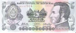 Honduras - Pick 91c - 5 Lempiras 2010 - Unc - Honduras