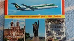 CPSM AEROPORTO INTERNAZIONALE LEONARDO DA VINCI ROMA FIUMICINO - Aerodrome