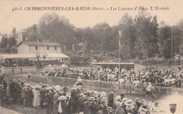 Rhône - CHARBONNIERES Les BAINS - Les Courses D'Ânes - L' Arrivée - Non écrite - Charbonniere Les Bains