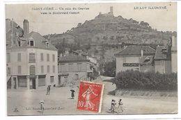 SAINT CERE - Un Coin Du Gravier Vers Le Boulevard Carnot - Saint-Céré