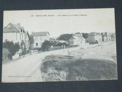SAINT GILLES CROIX DE VIE  1910 /  LES CHALETS DE LA PELLE A PORTEAU  / CIRC OUI / EDIT VOIR PHOTO - Saint Gilles Croix De Vie