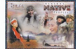 Traditional Native Dress, Clothing, ALASKA, AK, United States, USA, POSTCARD POST CARD, Carte Postale - United States