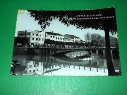 Cartolina Motta Di Livenza - Ponte Sul Vecchio Alveo Del Livenza 1956 - Treviso
