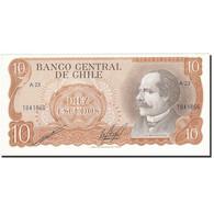 Chile, 10 Escudos, 1967-1976, KM:142, SUP+ - Chili