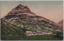 Berninahäuser Mit Piz Alv - GR Grisons