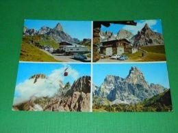 Cartolina Passo Rolle - Baita Segantini - Passo Travignolo 1969 - Trento