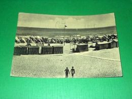 Cartolina Bellariva Lido Di Rimini - Stabilimento Balneare Ideale 1953 - Rimini