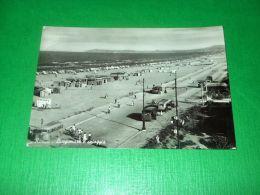 Cartolina Rimini - Lungomare E Spiaggia 1951 - Rimini