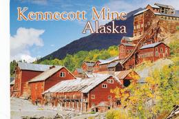 KENNECOTT MINE, Wrangell St Elias National Park, ALASKA, AK, United States, USA, POSTCARD POST CARD, Carte Postale - United States