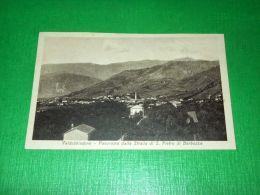 Cartolina Valdobbiadene - Panorama Dalla Strada Di S. Pietro Di Barbozza 1924 - Treviso