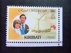KIRIBATI Ex GILBERT 1981 BODA REAL Yvert N 60 ** MNH - Kiribati (1979-...)