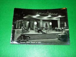 Cartolina Bellaria - Ingresso Hotel Bristol Di Notte 1956 - Rimini