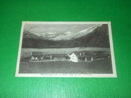 Cartolina Moncenisio - Lago Con Vista Dell' Isoletta 1927 - Italie