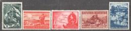 58-765 // BG - 1941  BULGARIA -1941 Mi 432/36 ** - 1909-45 Kingdom