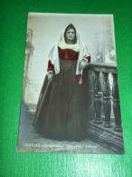 Cartolina Dipinta Iglesias - Costume Antico 1910 - Cagliari
