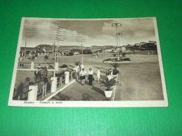 Cartolina Riccione - Piazzale A Mare 1948 - Rimini